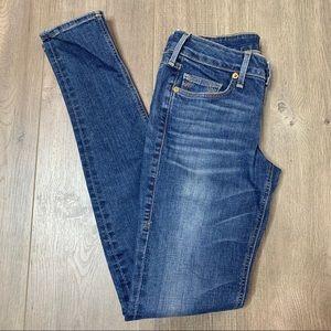 TRUE RELIGION | Medium Wash Skinny Jeans C01
